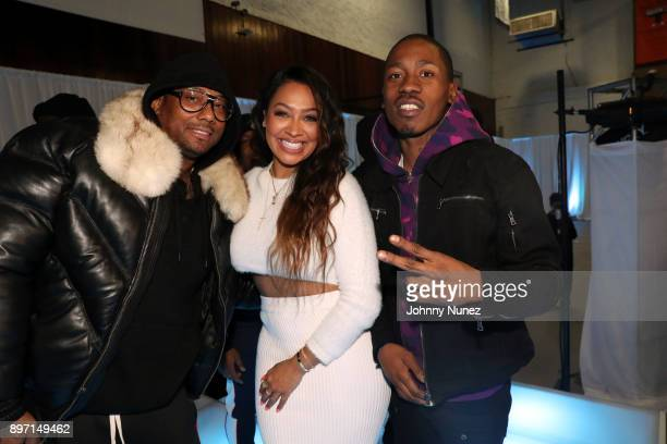 Maino La La Anthony and 2 milly attend The 2017 'Winter Wonderland' Holiday Charity Event hosted by La La Anthony at Gauchos Gym on December 21 2017...