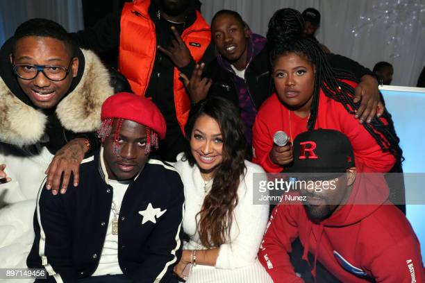 Maino Lil Yachty La La Anthony 2 Milly Paris Phillips and DJ Clue attend The 2017 'Winter Wonderland' Holiday Charity Event hosted by La La Anthony...