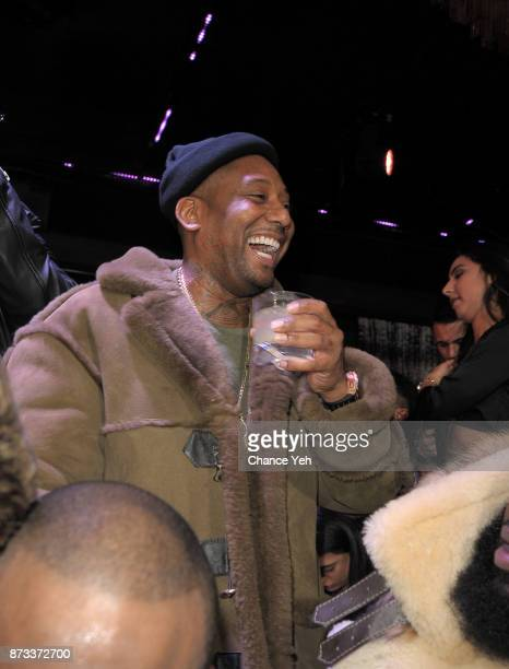 Maino performs during Sunset Saturday at PhD Dream Downtown Hotel Rooftop on November 11 2017 in New York City