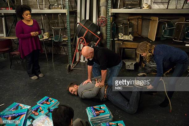 COMMUNITY VCR Maintenance and Educational Publishing Episode 509 Pictured Yvette Nicole Brown as Shirley Joel McHale as Jeff Jonathan Banks as...
