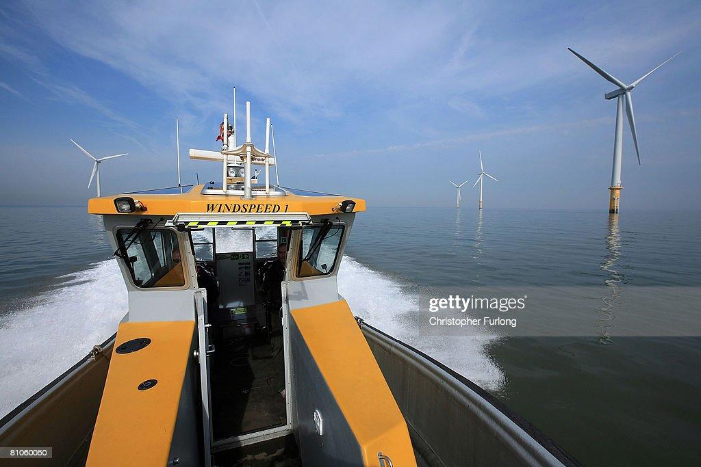 Burbo Bank Wind Farm Now Fully Operational : News Photo