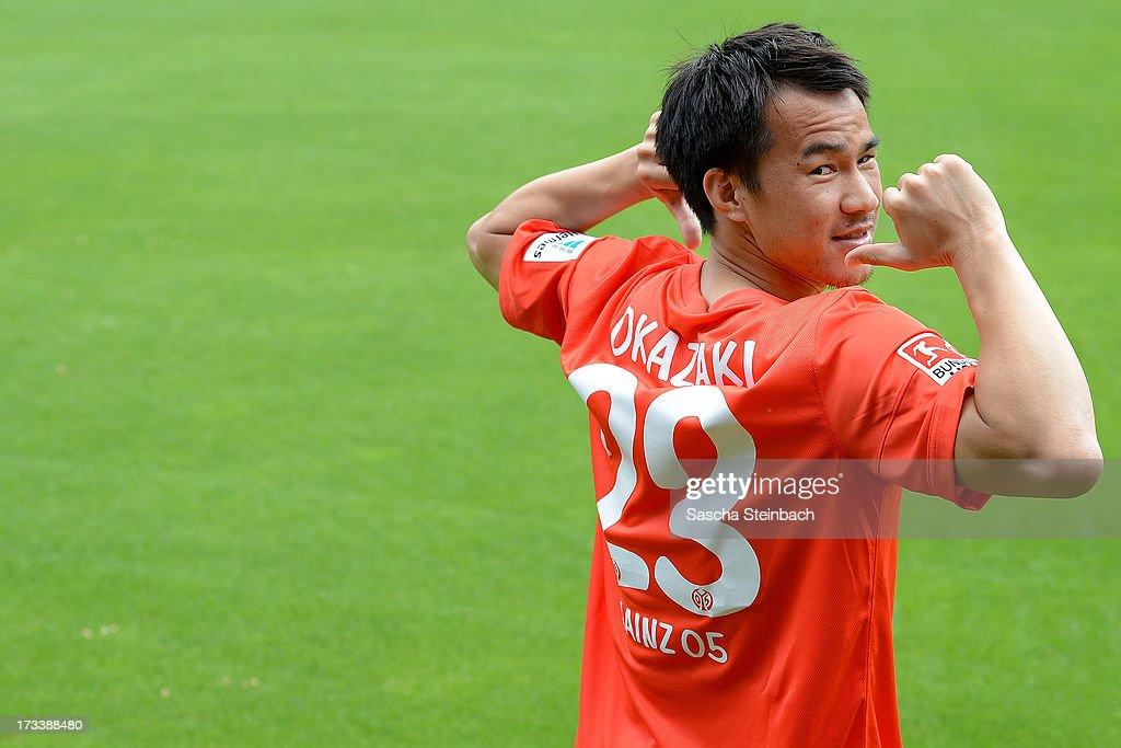 Mainz 05 Presents Shinji Okazaki : News Photo