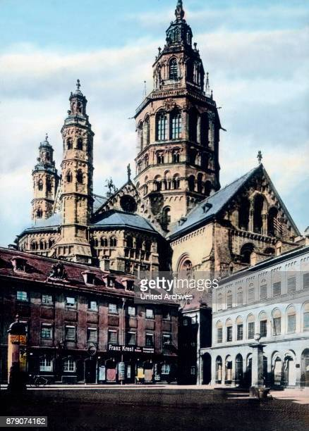 Mainz is now part of the Free State of Hesse and was from the Middle Ages to the time of Napoleon the shining capital of the Electorate spiritual One...
