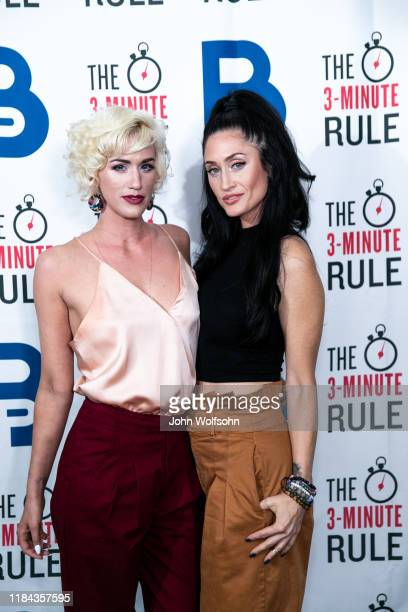 Mair Mulroney and Tiffany Lynn attends red carpet event featuring business influencers celebrities and leading network executives gather to celebrate...