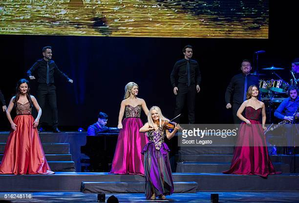 Mairead Carlin Susan McFadden Mairead Nesbitt and Eabha McMahon of Celtic Woman perform in support of their Destiny World Tour at The Fox Theatre on...