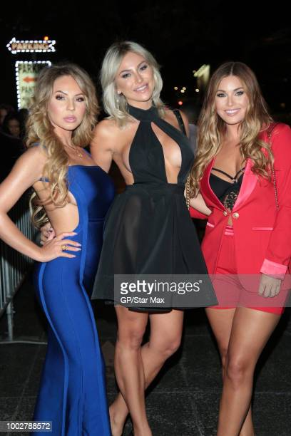 Maisa Kehl Khloe Terae and Ciara Price are seen on July 19 2018 in Los Angeles CA