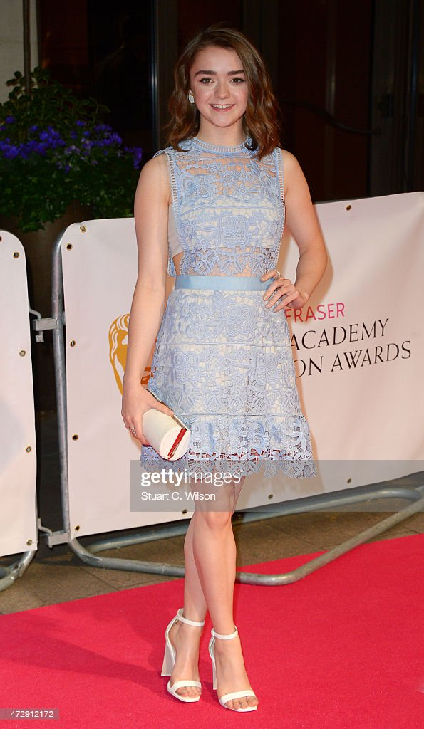 Maisey Williams attends the After Party dinner for the House of Fraser British Academy Television Awards (BAFTA) at The Grosvenor House Hotel on May 10, 2015 in London, England.