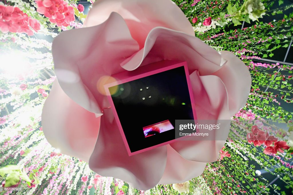 Maisie Cousins, Erotica In Bloom, on display at Refinery29's '29Rooms Los Angeles: Turn It Into Art' on December 6, 2017 in Los Angeles, California.