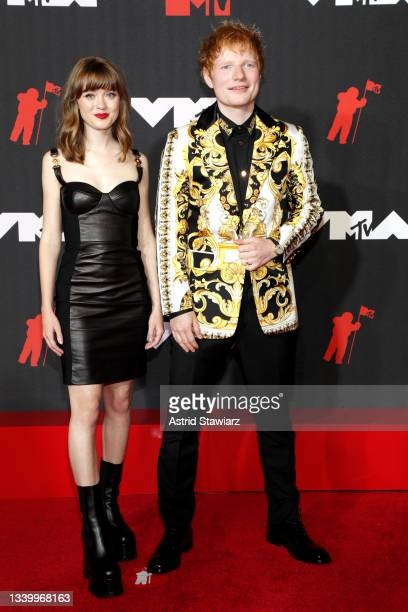 Maisie Peters and Ed Sheeran attends the 2021 MTV Video Music Awards at Barclays Center on September 12, 2021 in the Brooklyn borough of New York...