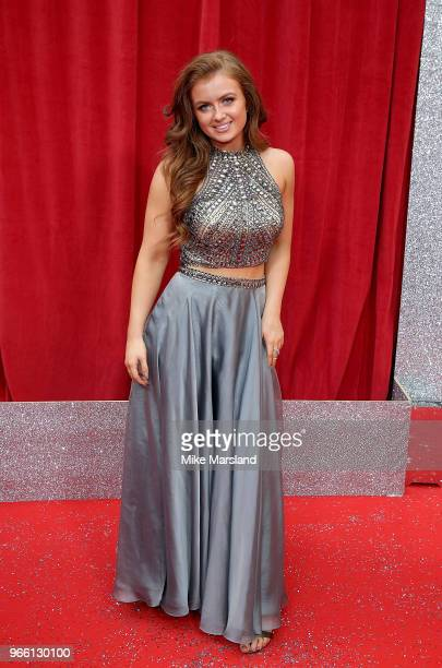 Maisie Smith attends the British Soap Awards 2018 at Hackney Empire on June 2 2018 in London England