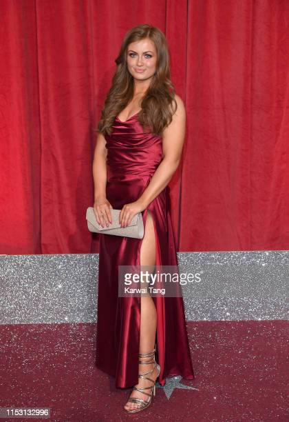 Maisie Smith attends the British Soap Awards at The Lowry Theatre on June 01 2019 in Manchester England
