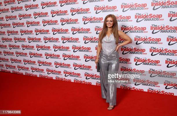 Maisie Smith attends the Inside Soap Awards at Sway on October 07 2019 in London England