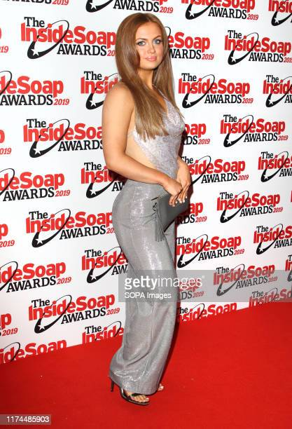 Maisie Smith attends the Inside Soap Awards at the Sway Nightclub in London
