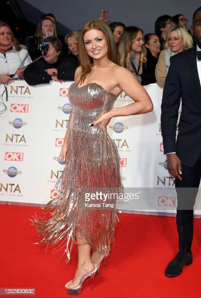Maisie Smith attends the National Television Awards 2020 at The O2 Arena on January 28 2020 in London England