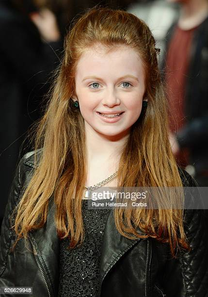 Maisie Smith attends the premiere of A New York Winter's Tale at Odeon Kensington
