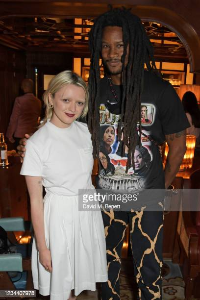 Maisie Williams and Akinola Davies Jr attend a private dinner hosted by Maisie Williams at Gymkhana London to celebrate the launch of new company...
