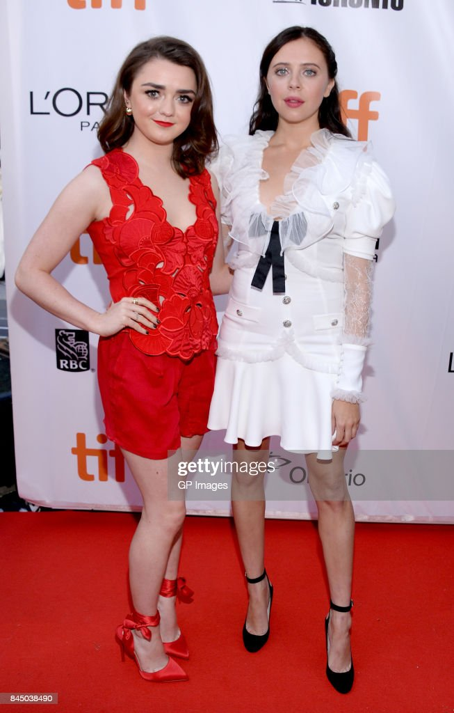 2017 Toronto International Film Festival - 'Mary Shelley' Premiere - Red Carpet : News Photo