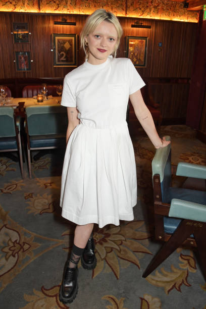 GBR: Maisie Williams Hosts Private Dinner At Gymkhana To Celebrate Her New Production Company 'Rapt'