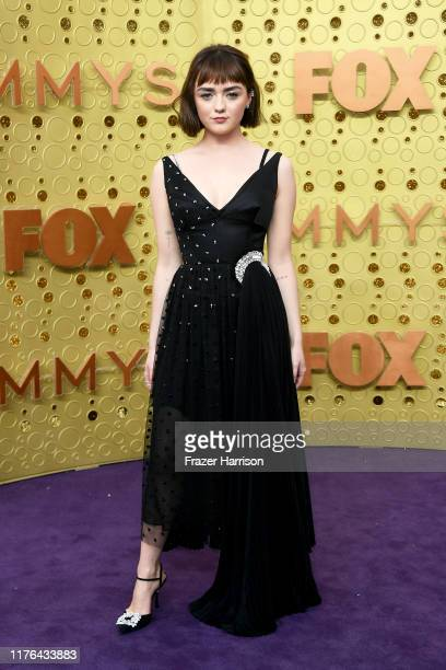 Maisie Williams attends the 71st Emmy Awards at Microsoft Theater on September 22, 2019 in Los Angeles, California.