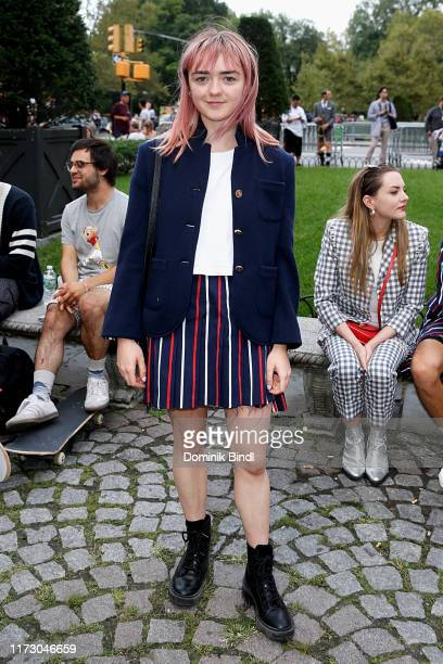 Maisie Williams attends the Bergdorf Goodman celebrates the arrival of Thom Browne Womenswear on September 07, 2019 in New York City.