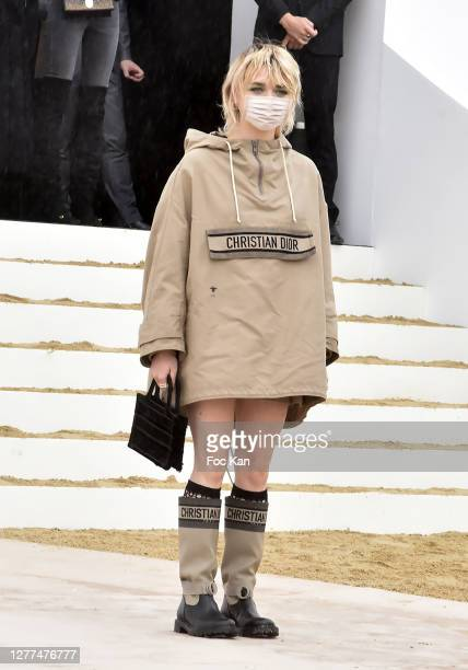 Maisie Williams attends the Dior Womenswear Spring/Summer 2021show as part of Paris Fashion Week on September 29, 2020 in Paris, France.