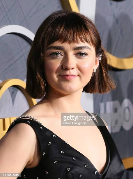 Maisie Williams attends the HBO's Post Emmy Awards Reception at The Plaza at the Pacific Design Center on September 22 2019 in Los Angeles California