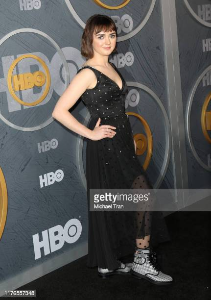 Maisie Williams attends the HBO's Post Emmy Awards reception held at The Pacific Design Center on September 22 2019 in Los Angeles California