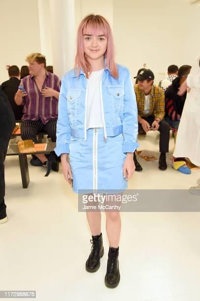 Maisie Williams attends the Helmut Lang front row during New York Fashion Week: The Shows on September 07, 2019 in New York City.