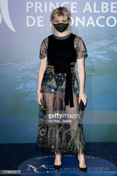 Maisie Williams attends the Monte-Carlo Gala For Planetary Health on September 24, 2020 in Monte-Carlo, Monaco.