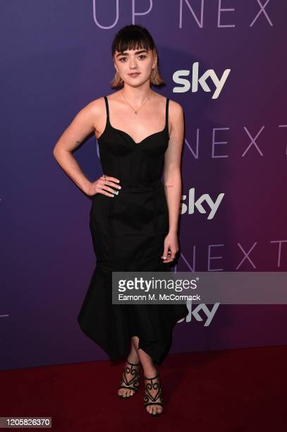 Maisie Williams attends the Sky Up Next 2020 at Tate Modern on February 12, 2020 in London, England.