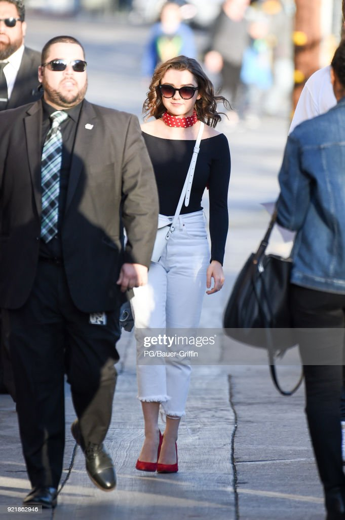 Celebrity Sightings In Los Angeles - February 20, 2018 : News Photo
