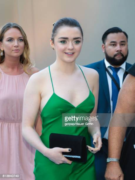 Maisie Williams is seen on July 12 2017 in Los Angeles California