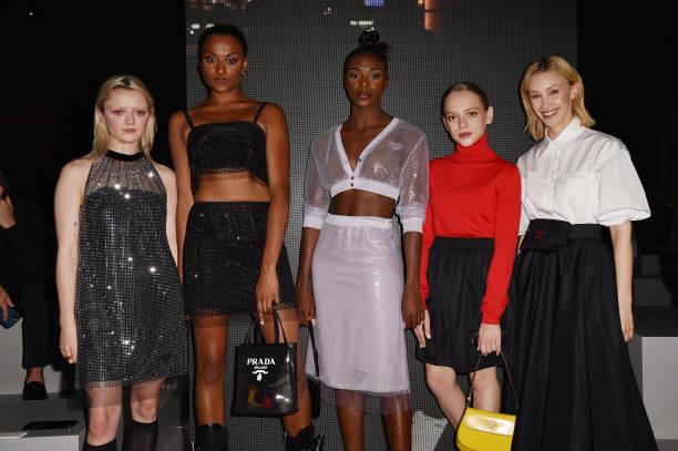 ITA: Prada Spring/Summer 2022 Womenswear Fashion Show – Arrivals and Front Row