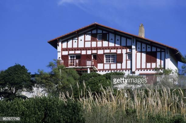 maison basque Guetary Pays Basque departement PyreneesAtlantique region Aquitaine France Guetary Pays Basque PyreneesAtlantique Aquitaine France