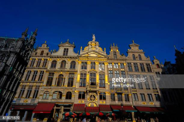 'Maison de la Chaloupe d'Or' (French for House of the Golden Skiff) baroque style house located at numbers 24 and 25 of the Grand Place of Brussels in Belgium, between the 'House of the Angel' and the 'House of the Pigeon'.