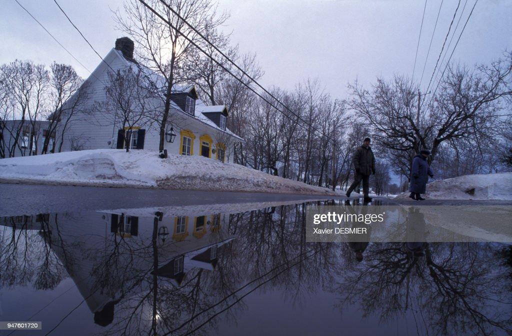 Maison De La Grande Ile Au Québec : News Photo