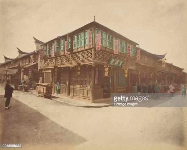 Maison de thé, 1870s. Artist Unknown.