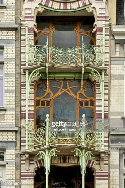 Maison St Cyr 11 Square Ambiorix Brussels Belgium circa 20142017 Gustave Strauven 1903