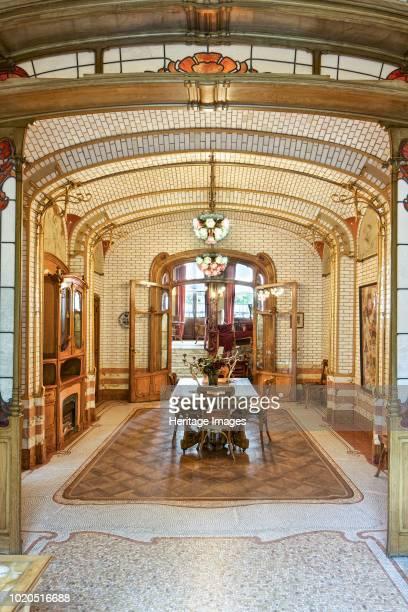 MaisonAtelier Horta 2325 Rue Americaine Brussels Belgium circa 20142017 Designed by Victor Horta in 18981901