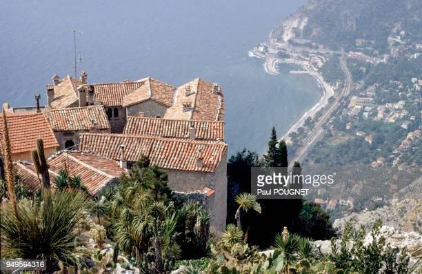 Maisons du village perché d'Eze dans les AlpesMaritimes France