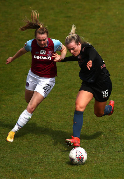 GBR: West Ham United Women v Manchester City Women - Barclays FA Women's Super League