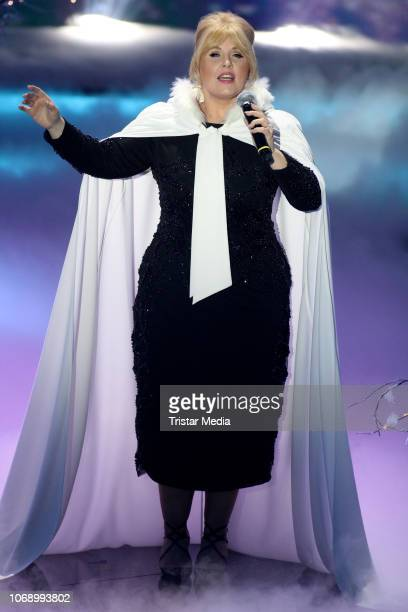 Maite Kelly during the charity tv show 'Die schoensten Weihnachts-Hits' in favor of MISEREOR and Brot fuer die Welt on December 5, 2018 in Munich,...