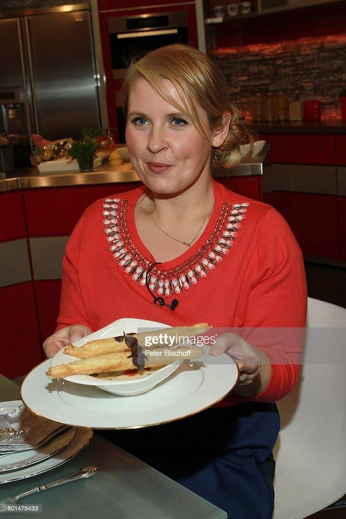 Maite Kelly, ZDF-Koch-Show \'Lafer!Lichter!Lecker!\', Hamburg ...