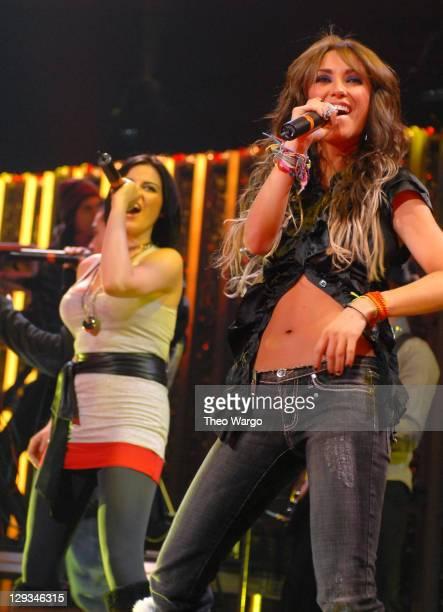 Maite Perroni and Anahí of RBD perform 'Tu Amor'