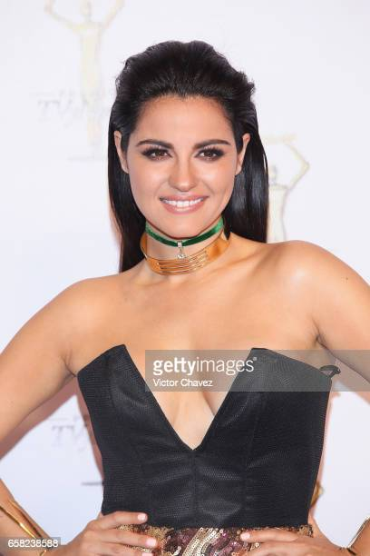 Maite Perroni attends Premios Tv y Novelas 2017 at Televisa San Angel on March 26 2017 in Mexico City Mexico