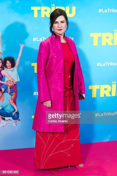 Maite Sandoval attends 'La Tribu' premiere at the Capitol cinema on March 12 2018 in Madrid Spain