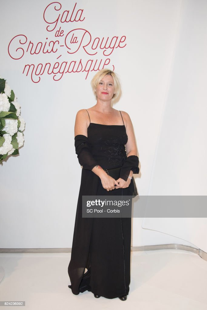 Maitena Biraben attends the 69th Monaco Red Cross Ball Gala at Sporting Monte-Carloon July 28, 2017 in Monte-Carlo, Monaco.
