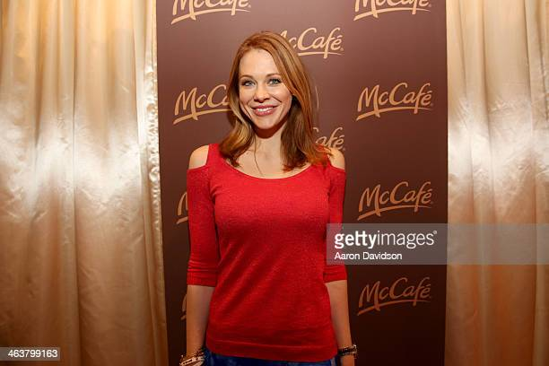 Maitland Ward attends McDonald's McCafe Presents The Village At The Lift on January 18 2014 in Park City Utah