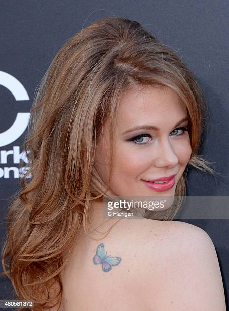 Maitland Ward attends the 18th Annual Hollywood Film Awards at The Palladium on November 14 2014 in Hollywood California