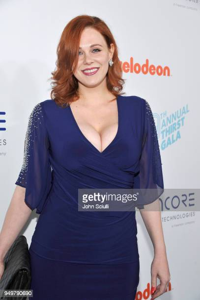 Maitland Ward attends The Thirst Project's 9th Annual Thirst Gala at The Beverly Hills Hotel on April 21 2018 in Beverly Hills California